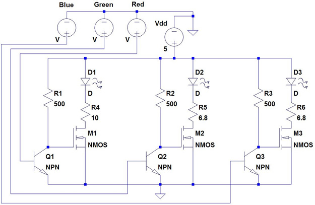 project portfolio  technical and fun projects…, wiring diagram