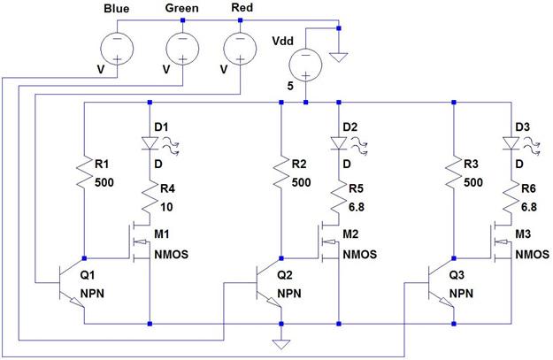 Project Portfolio Fpga Rgb Led Controller W Vga Support Cpe 329